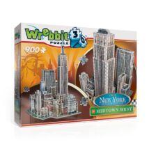 Épületek - New York West (3D habszivacs puzzle)