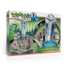 Épületek - New York World Trade (3D habszivacs puzzle)