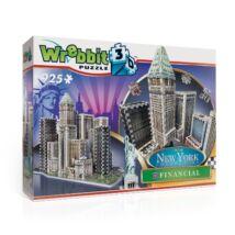 Épületek - New York Financial (3D habszivacs puzzle)