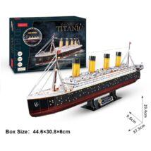 Titanic (LED) 3D puzzle (266 elem)