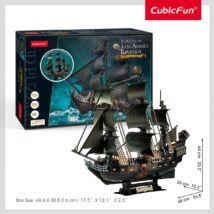 3D puzzle Queen Anne' Revenge (LED világítás, 293 elem)