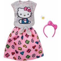 Barbie ruha szett - Hello Kitty (FKR68)