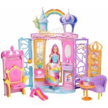 Barbie Dreamtopia - kastély babával