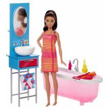 Barbie szoba babával