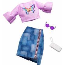 Barbie ruha szett (FXJ02)