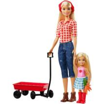 Barbie kerti szett