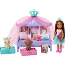 Barbie Princess Adventure - Chelsea hercegnő játékszett (GML74)