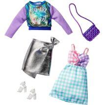 Barbie ruha szettek (2-es csomag, GHX62)