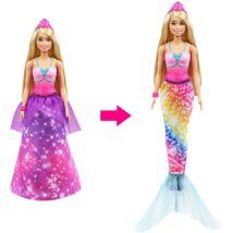 Barbie Dreamtopia Átváltozó Sellő (GTF92)