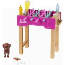Barbie - Kerti játékszett kisállattal