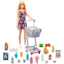Barbie nagybevásárlás szett