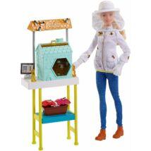 Barbie karrier játékszettek (méhész)