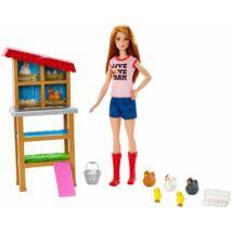 Barbie karrier játékszettek (farmer)