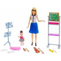 Barbie karrier játékszettek (zenetanár)