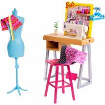 Barbie karrier kiegészítő szettek (divattervező)