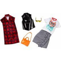 Barbie ruha szettek (2-es csomag, FKT41)
