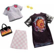 Barbie ruha szettek (2-es csomag, FXJ59)