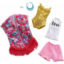 Barbie ruha szettek (2-es csomag, FXJ62)