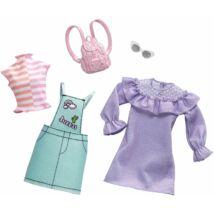 Barbie ruha szettek (2-es csomag, FXJ64)