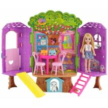 Barbie Chelsea lombkorona háza szett