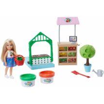 Barbie Chelsea zöldséges kiskertje