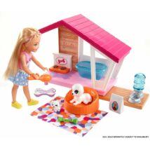 Barbie mesés kutyaház kiegészítőkkel