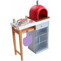 Barbie kerti bútorok (pizzasütés)