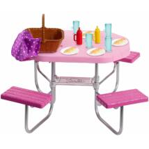 Barbie kerti bútorok (piknik)