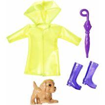 Barbie Chelsea ruha szettek (esős nap)