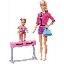 Barbie edző karrier játékszett (tornázó)