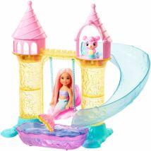 Barbie Dreamtopia Chelsea kastéllyal