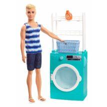 Ken hétköznapjai játékszett (mosókonyhás)