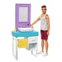 Ken hétköznapjai játékszett (borotválkozós)