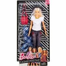 Barbie Fashionista baba ruhával (szőke hajú)