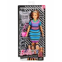 Barbie Fashionista baba ruhával (vörös hajú)