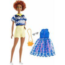 Barbie Fashionista baba ruhával (FRY80)
