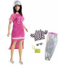 Barbie Fashionista baba ruhával (FRY81)