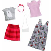 Barbie ruha szettek (2-es csomag, FXJ67)