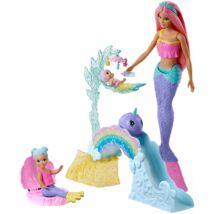 Barbie Dreamtopia bébiszitter játékszett