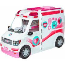 Barbie mentőautó