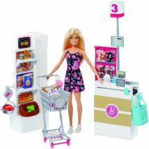 Barbie szupermarket babával