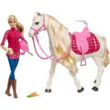 Barbie Dream Horse - Intelligens lovacska babával