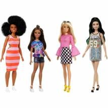 Barbie Fashionista barátnők stílusos divatbabák (4-es csomag)