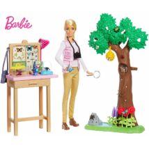 Barbie National Geographic lepkekutató játékszett