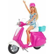 Barbie baba robogóval