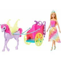 Barbie mesés fogat hercegnővel