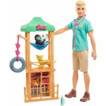 Ken karrier babák kiegészítőkkel (GJM33)