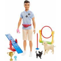 Ken karrier babák kiegészítőkkel (GJM34)