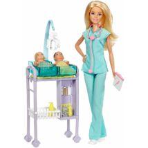 Barbie karrier játékszettek (gyermekorvos)