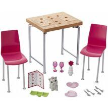 Barbie bútorok kiegészítőkkel